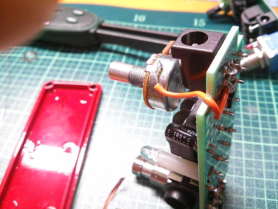 JHS Mini Bomb Boost 修理 モディファイ 改造 MOD