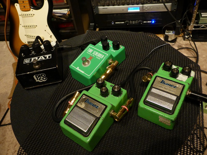 Camuro Caboolture TS系オーバードライブ TS9 TS-9 Tube Screamer RAT