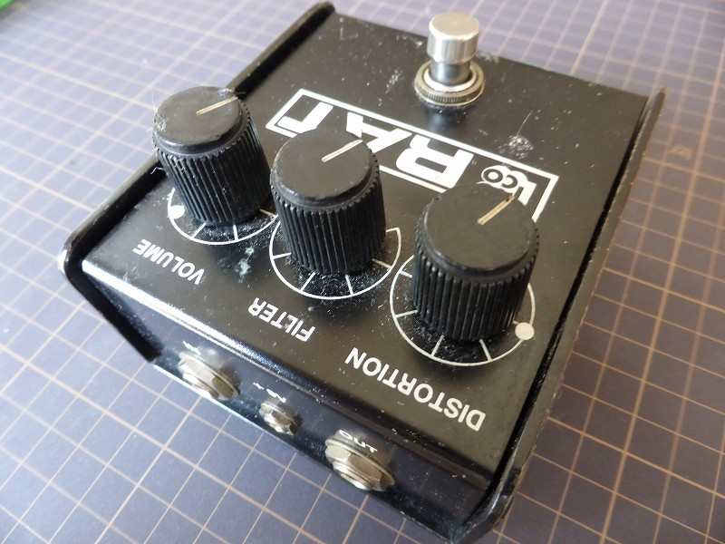 unkie downy 青木裕 Camuro Caboolture TS系オーバードライブ TS9 TS-9 Tube Screamer RAT