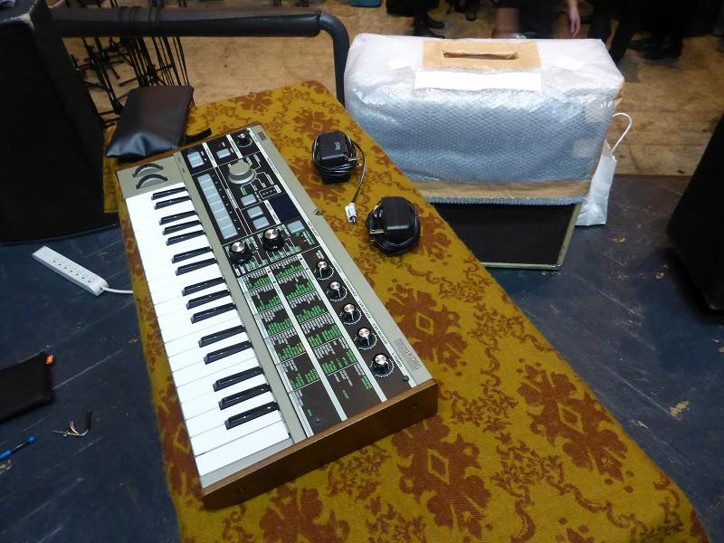 downy 青木ロビン キーボード シンセ 楽器 機材
