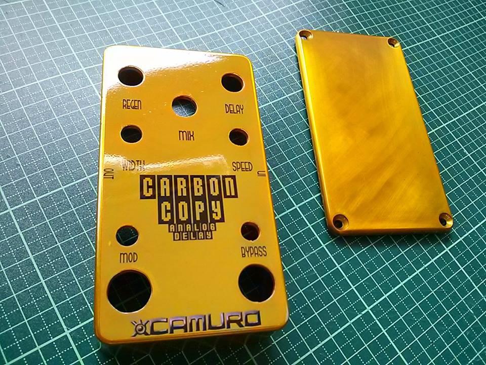 MXR Carbon Copy 修理 モディファイ 改造 MOD