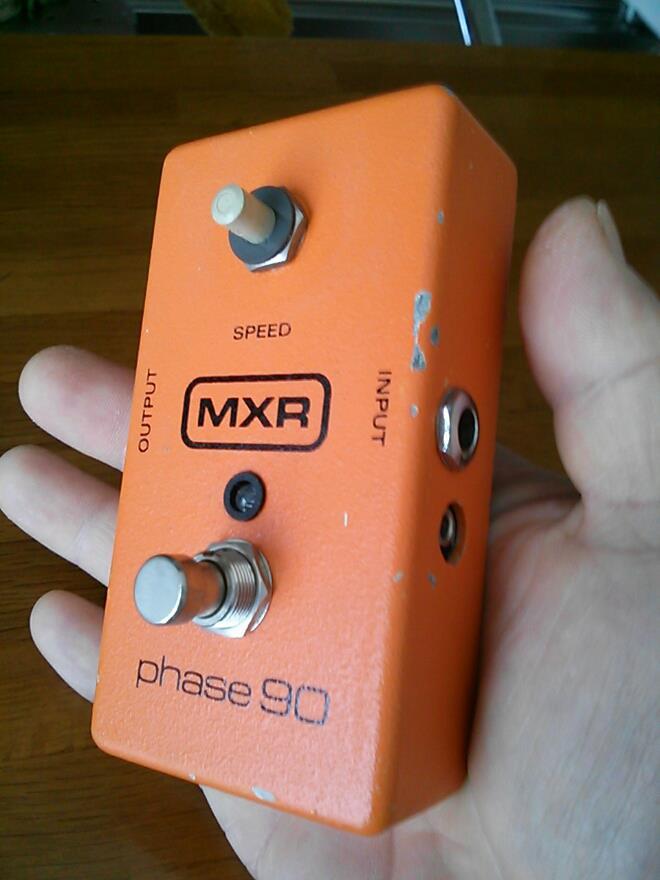 MXR Phase90 True Bypass Mod