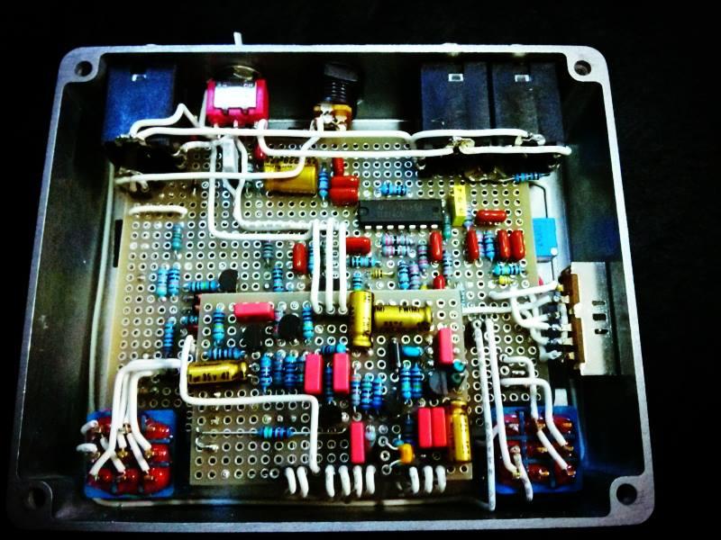 Camuro プリアンプ ベース用ディストーション ベース用オーバードライブ Sans Amp Classic